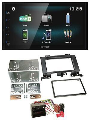 Kenwood Bluetooth 2DIN USB DAB MP3 Autoradio für Mercedes Sprinter ab 06 W906 sc