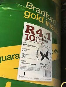 Bradford Gold Insulation Batts Redfern Inner Sydney Preview