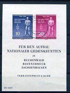 DDR 1955 INTERNATIONAL LIBERATION DAY MINI SHEET GERMANY - Italia - DDR 1955 INTERNATIONAL LIBERATION DAY MINI SHEET GERMANY - Italia