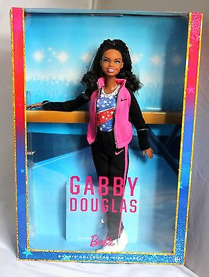 Barbie Collector Gabby Douglas Doll Mattel Girls Usa Gymnastics New