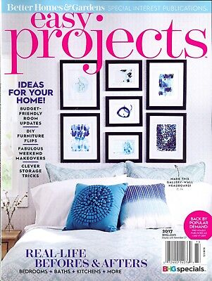 Easy Projects 2017 BHG SIP Ideas For Your Home Budget-Friendly DIY Makeovers... - Diy Easy Projects
