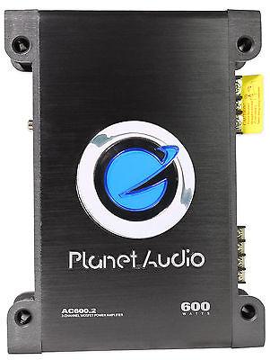 Planet Audio AC600.2 600 Watt 2-Channel Car Strereo Amplifier Class AB Amp