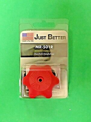 Jb Industries Manifold Handwheel Red Wscrew Mr-501r