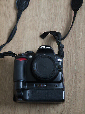 Nikon D3100 with battery grip and charger - Read Description
