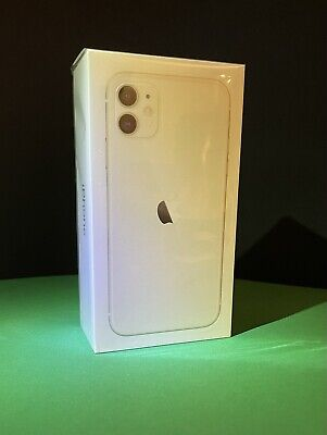 BRAND NEW UNLOCKED CLEAN APPLE IPHONE 11 - 64 GB WHITE (AT&T, VERIZON T-MOBILE)