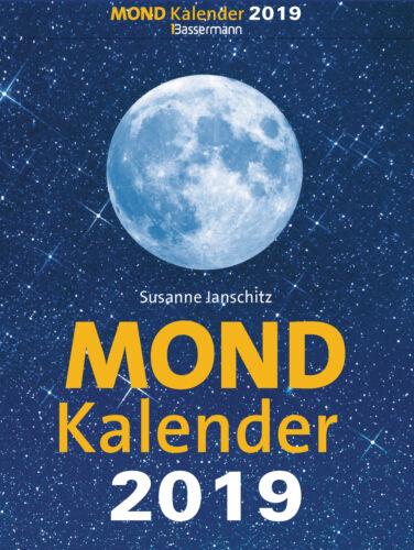 Mondkalender 2019 Abreißkalender von Susanne Janschitz (04.06.2018, Kalender)