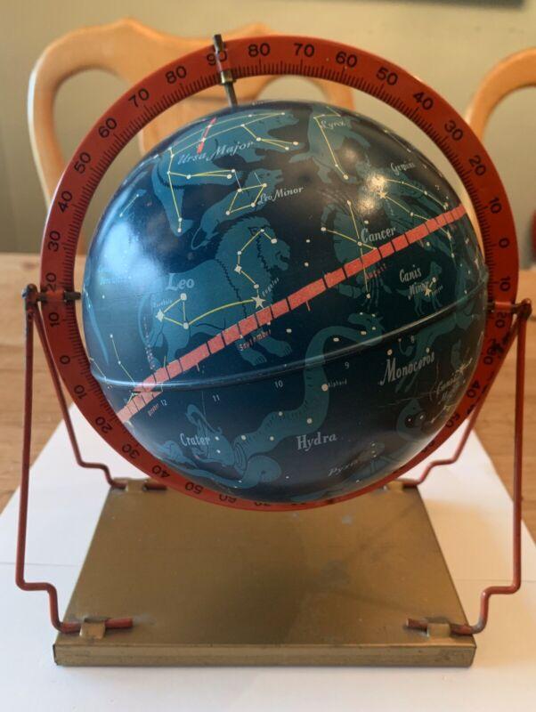 1950S Rare 6 Inch Celestial Table Globe Replogle - Brueckmann - Excellent!