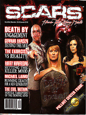 Scars Horror Magazine Gunnar Hansen The Saw The Exorcist Harry Manfredini