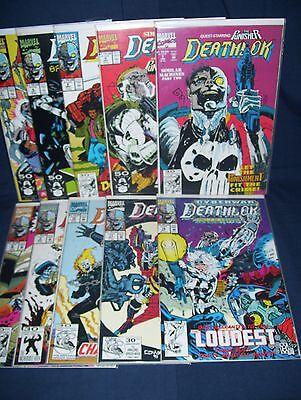 Deathlok Comic Lot #2, #4 - #11, #18  Marvel Comics NM with Bag and Board