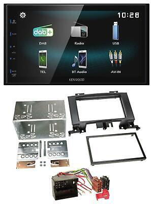 Kenwood Bluetooth 2DIN USB DAB MP3 Autoradio für Mercedes Sprinter W906 ab 06 Ru