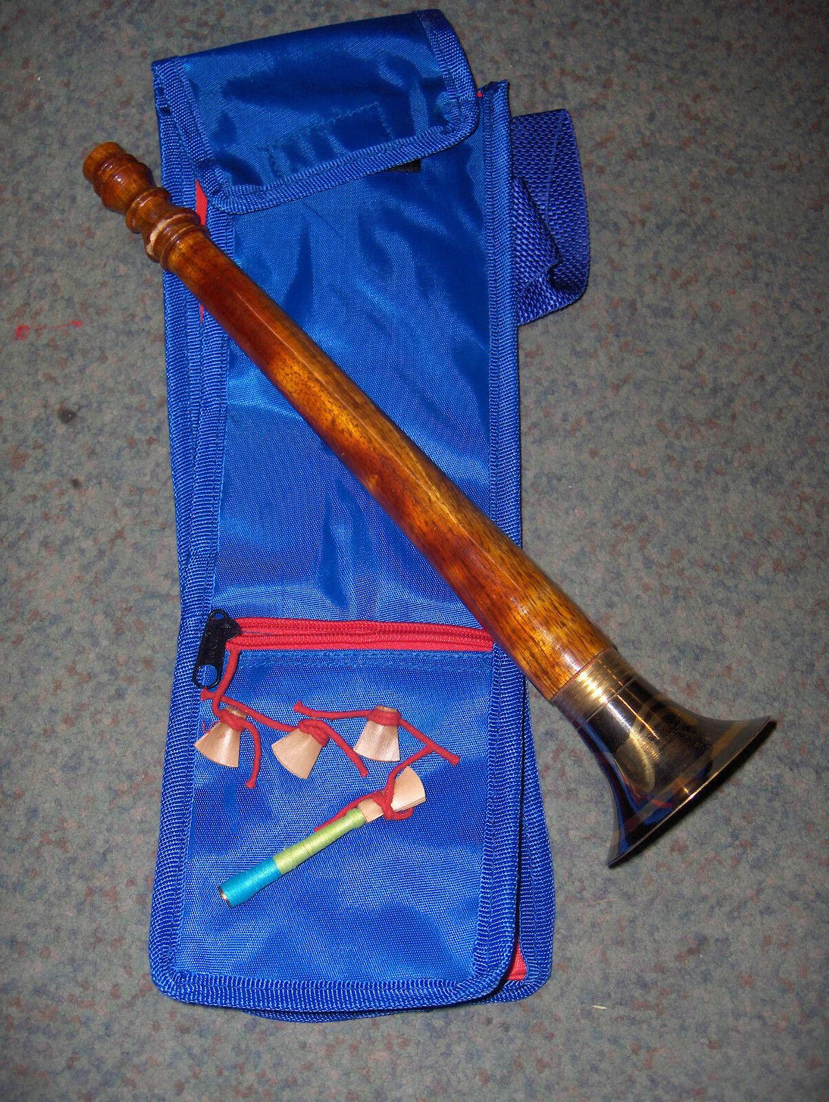 Shehnai,Flöte Holz auch Shenai, Sahnai, aus Indien