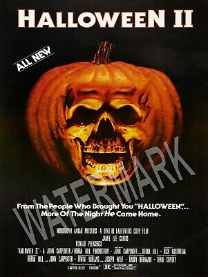 Halloween 2 1981 Movie (1981 Halloween 2 Movie High Quality Metal Magnet 3 x 4 inches)