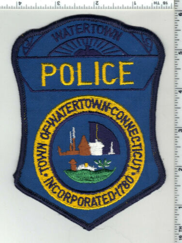 Watertown Police (Connecticut) 2nd Issue Shoulder Patch
