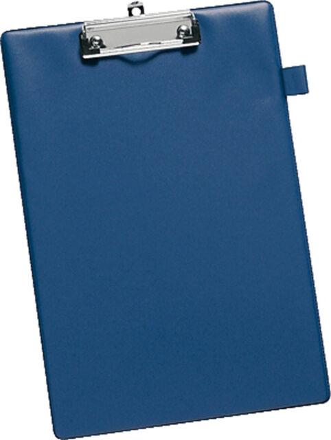 Schreibplatte Klemmbrett Klemmmappe blau, DIN A4