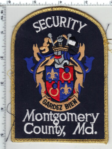 Montgomery County Security (Maryland) uniform take-off shoulder patch
