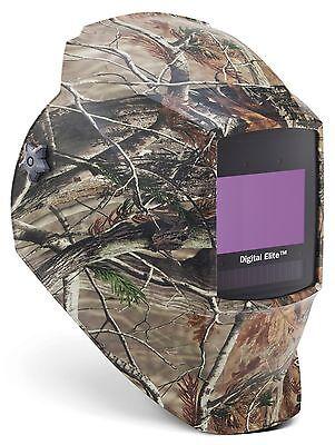 Miller 256 173 Camouflage Digital Elite Auto-darkening Welding Helmet