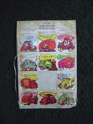 "Hallmark Road Rovers Vintage Stickers ""Collector Series 1"" 1976"