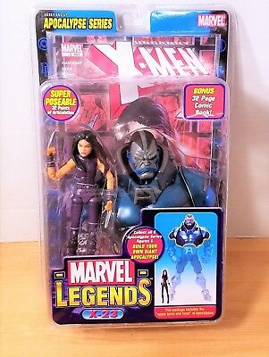 MARVEL LEGENDS APOCALYPSE SERIES ACTION FIGURE X-23 PURPLE VARIANT TOYBIZ 2005