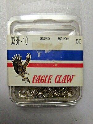 182 Size 6 Brand New Free Shipping 100 Total Eagle Claw Steelhead Hooks No