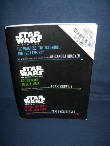 Star Wars Multi-Book Advanced Readers Excerpt Uncorrected Proof 2015