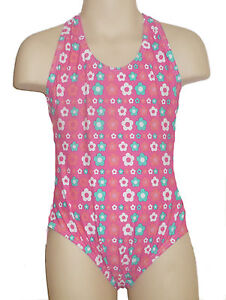 Girls Swimsuit Ages 6 - 13 New Swimming Costume