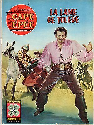 AVENTURES DE CAPE ET D'EPEE 8 (1963) LA LAME DE TOLEDE