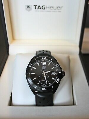 Tag Heuer Formula 1 Calibre 6 WAZ2112 Titanium Black watch for sale  Shipping to South Africa