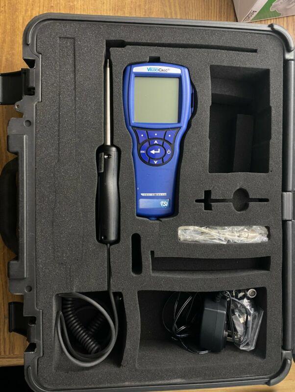 TSI Velocicalc 9565-x Air Velocity Meter (Straight Probe) w/carrying case