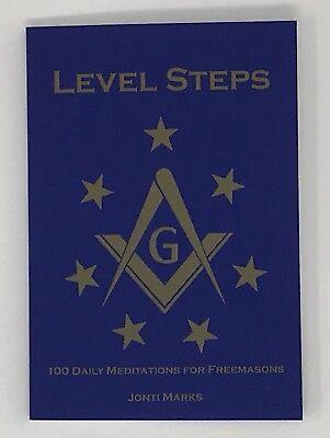 New Freemasonry Masonic Level Steps Book By Brother Jonti Marks