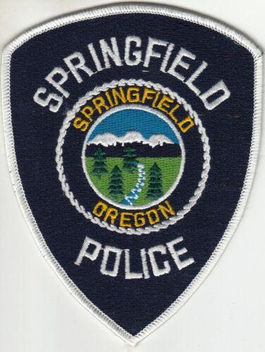 SPRINGFIELD OREGON POLICE SHOULDER PATCH OR