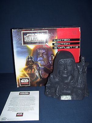 Star Wars Shadows of the Empire Limited Edition Statuette Darth Vader #4729 1997