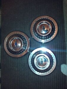 Old chevy hubcaps