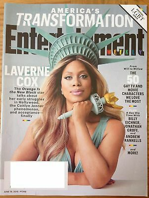 Entertainment Weekly America S Transformation Laverne Cox June 19 2015