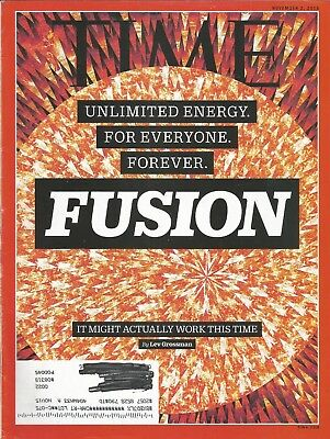 Fusion Energy Star (NOVEMBER 2, 2015 TIME MAGAZINE FUSION UNLIMITED ENERGY FOR EVERYONE STAR)