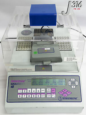 17142 Stratagene Thermal Cycler With Hot Top 400866 Robocycler Gradient 40