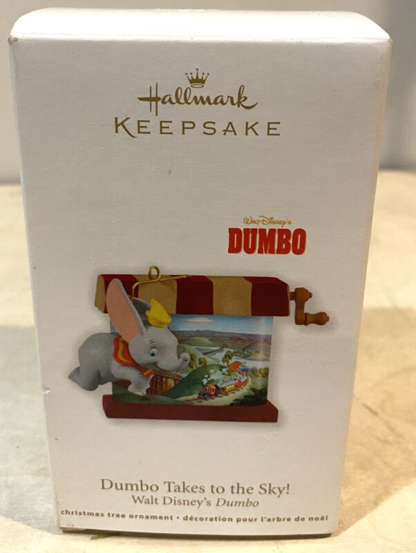 2011 Hallmark Keepsake changing scene ornament Walt Disneys Dumbo Takes to Sky