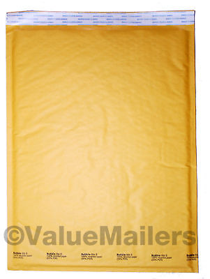 6 Bubble Lite 12.5x19 Kraft Bubble Mailers Padded Envelopes Bags 50 To 1000