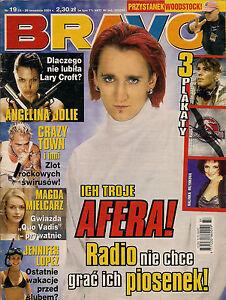 Bravo 19/2001 front Ich Troje,in:HIM,Britney Spears,Linkin Park,Marilyn Manson - <span itemprop=availableAtOrFrom>Bialystok, Polska</span> - Bravo 19/2001 front Ich Troje,in:HIM,Britney Spears,Linkin Park,Marilyn Manson - Bialystok, Polska