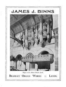 PUBLICITY-BOOKLET-OF-JAMES-J-BINNS-ORGAN-BUILDER-BRAMLEY-LEEDS-1924