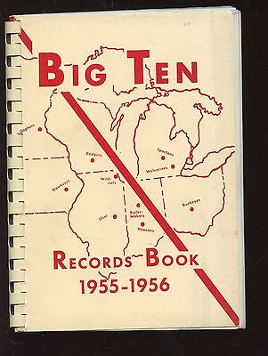 1955/56 Big Ten NCAA Sports Record Book -