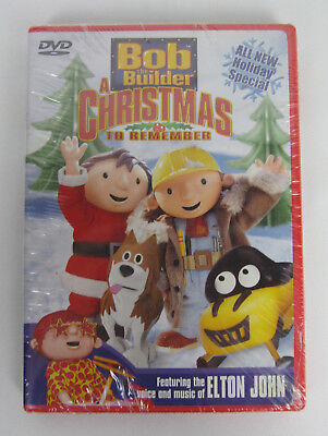 Bob The Builder A Christmas To Remember  Dvd  2003  Brand New Factory Sealed