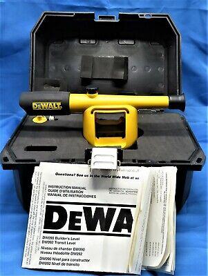 Dewalt Dw090 Laser 20x Builders Level Preowned Fast Shipping