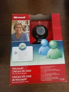 Brand New Unopened Microsoft Webcam.