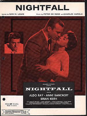 Nightfall Aldo Ray Anne Bancroft Brian Keith