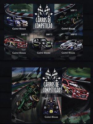 Guinea Bissau 2013 - Rennwagen Racing cars Caterham Chevrolet Nascar Formula 1