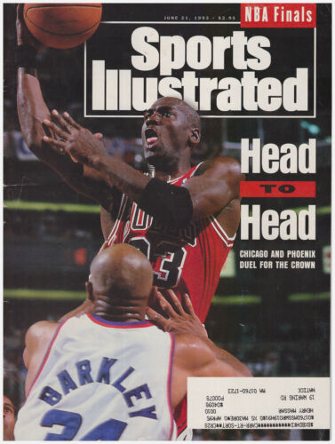 Sports Illustrated June 21, 1993 Head to Head- Chicago vs Phoenix Michael Jordan
