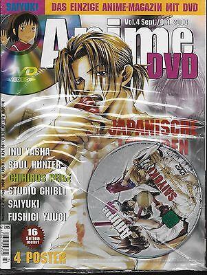 Anime DVD Vol.4 Sept. / Okt. 2003 / Mit DVD!