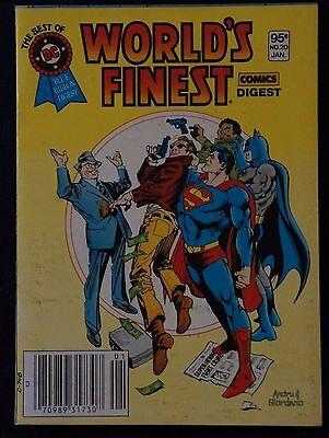 WORLD'S FINEST, SUPERMAN/BATMAN! Best of DC Blue Ribbon Digest #20 (Jan. 1982)