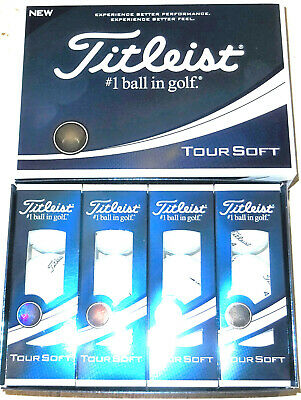 TITLEIST TOUR SOFT 2019 GOLF BALLS 1X12  BRAND NEW IN BOX
