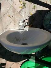 **FREE** Used Caroma Semi-Recessd sink & Grohe mixer Marrickville Marrickville Area Preview